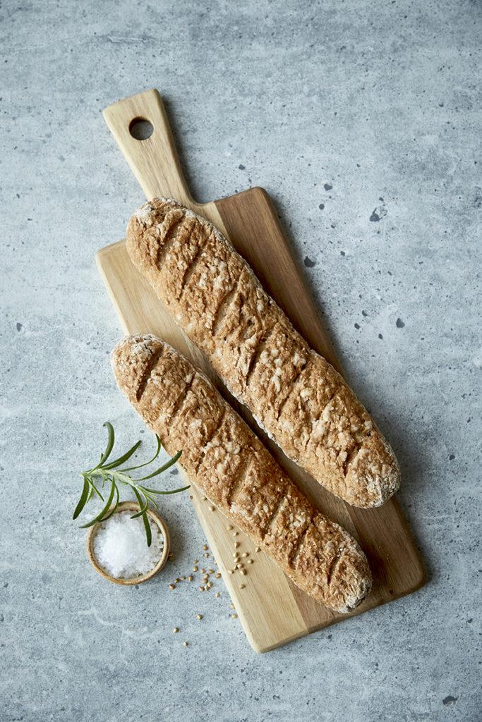 grove glutenfrie flutes fra bogen Knæk Koden til Glutenfrit Brød af Karina Baagø