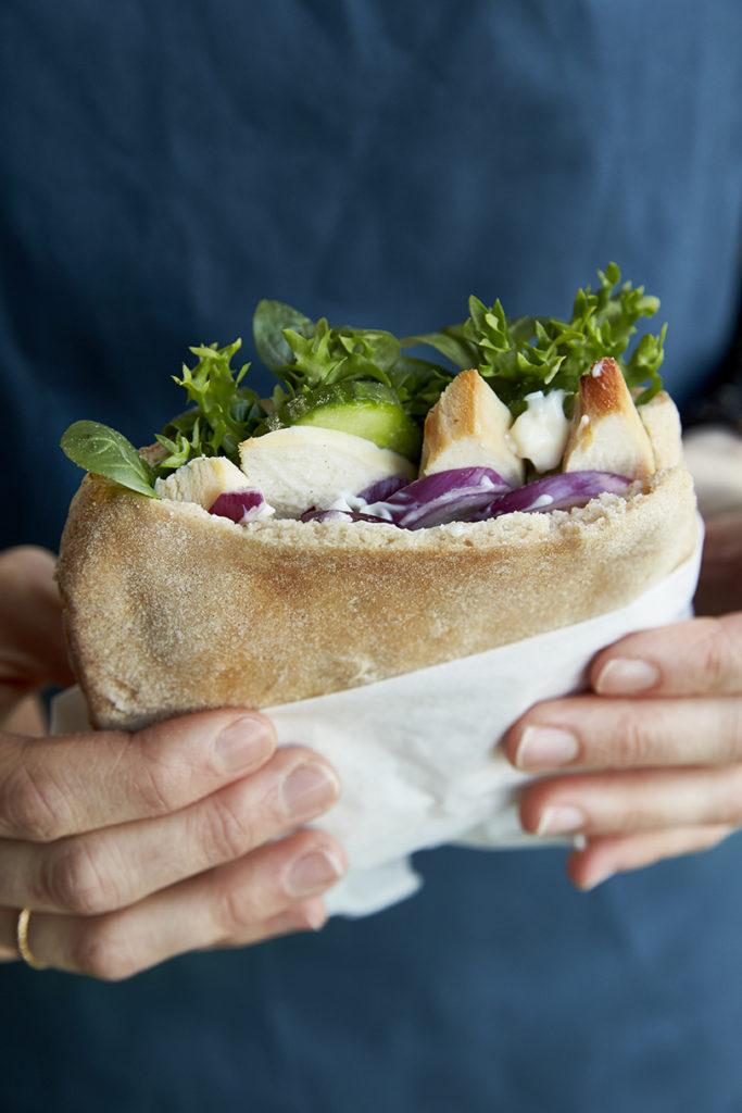 glutenfri pitabrød Strukturmetoden
